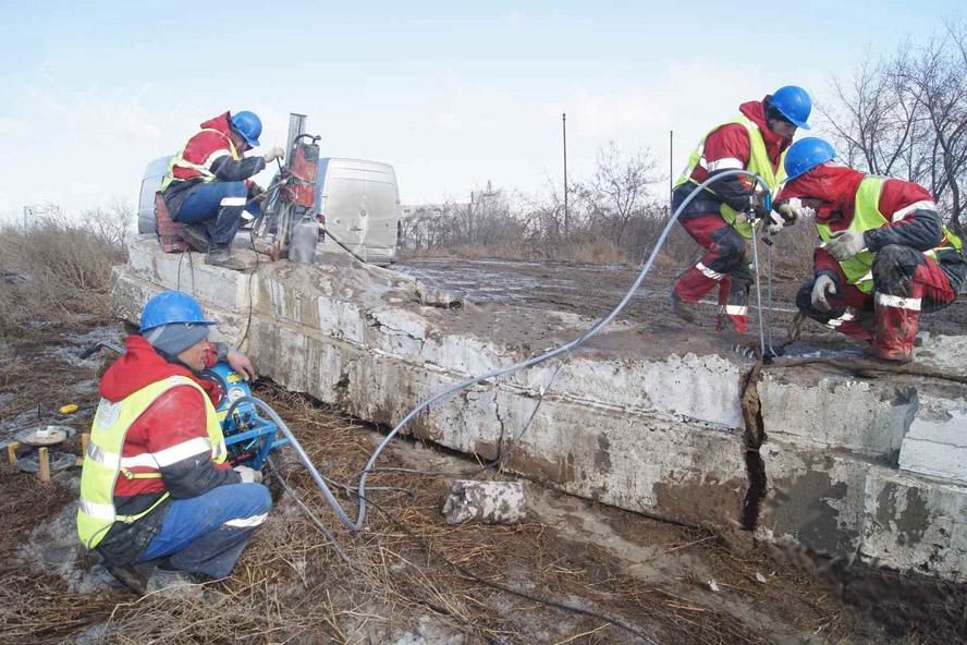 Резка и бурение бетона
